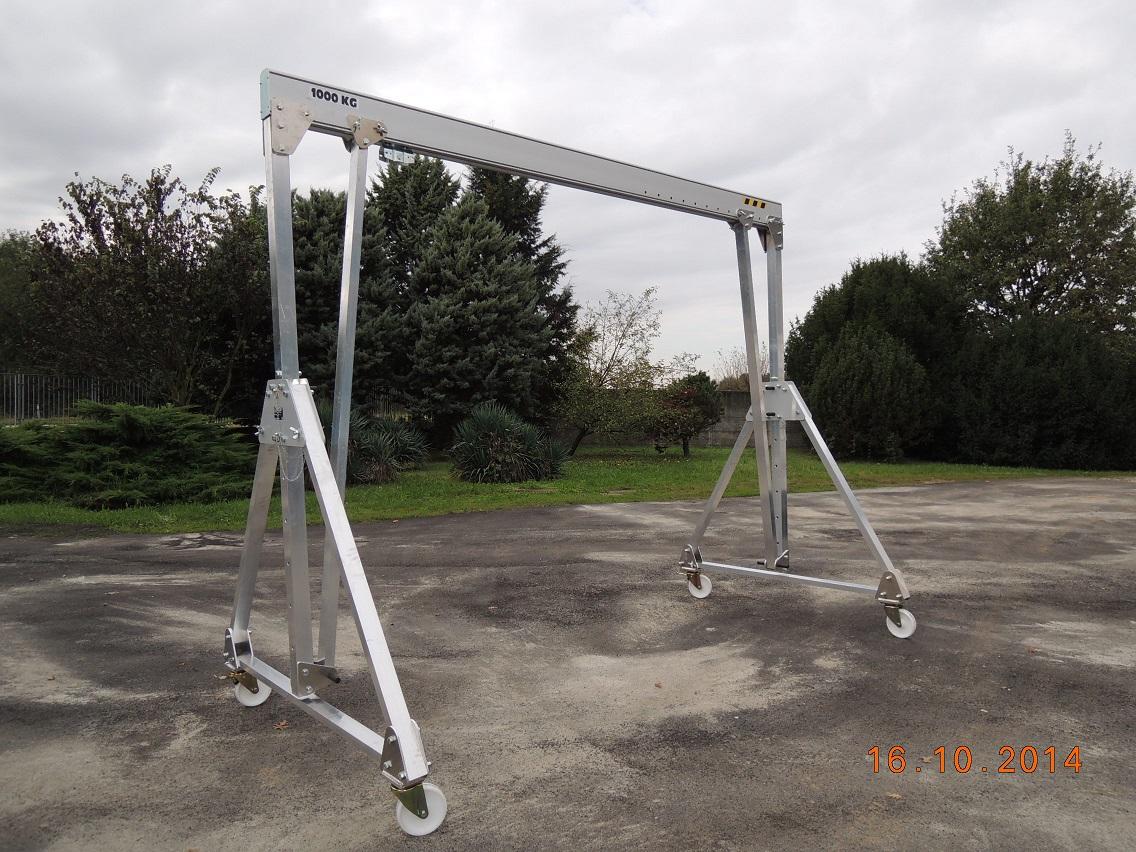 Aluminum Gantry Cranes Lightweight Portable