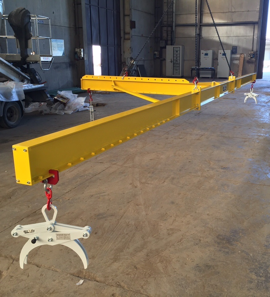Overhead Crane New Jersey : Jib crane wall bracket swing hoists spreader beams