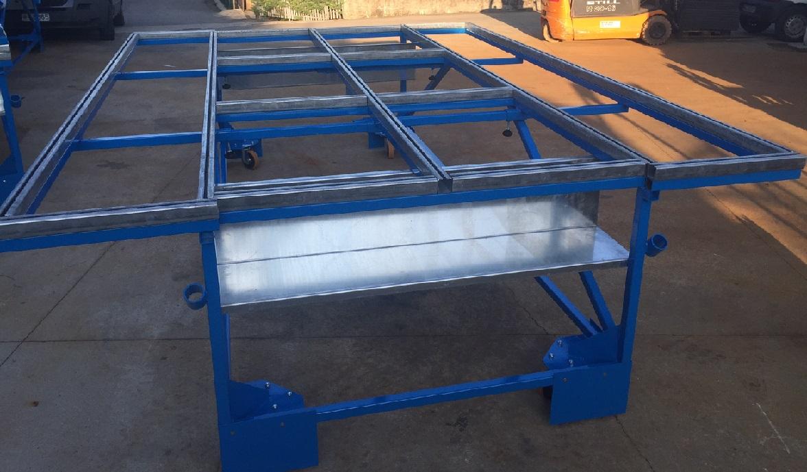 Ruote Per Tavolo Da Lavoro : Noleggio ventose e noleggio gru a portale in alluminio leggera.